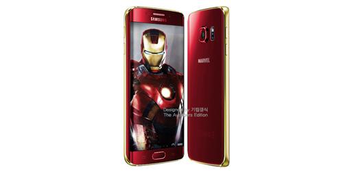 Samsung Akan Rilis Galaxy S6 & S6 Edge Edisi Iron Man