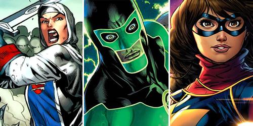 6 Superhero Muslim Marvel & DC