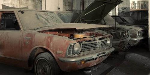 40 Tahun Terbengkalai, Dealer Toyota Beserta Isinya Masih Utuh