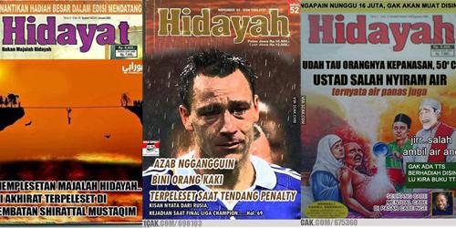 Meme Lucu Hidayah FOTO 40 Parodi Kocak Cover Majalah Hidayah Jomblo Memang Tak 327