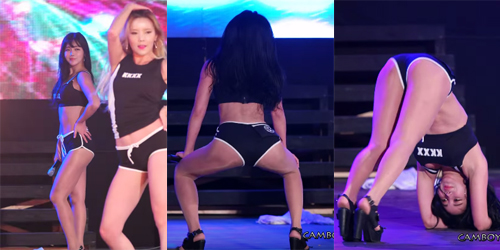 Heboh Video Girlband Rookie Laysha Ngedance Super Hot