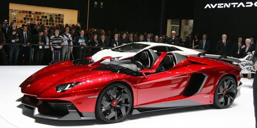 Lamborghini Aventador J - 5 Jenis Mobil Lamborghini Paling Mahal & on