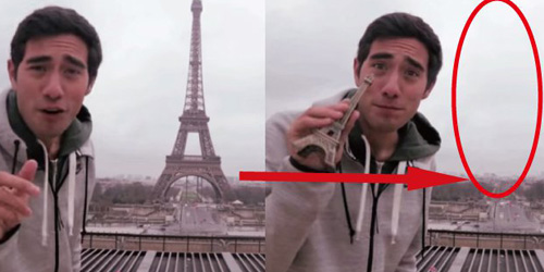 Video Editan Keren, Tembus Mobil Hingga Ambil Menara Eiffel