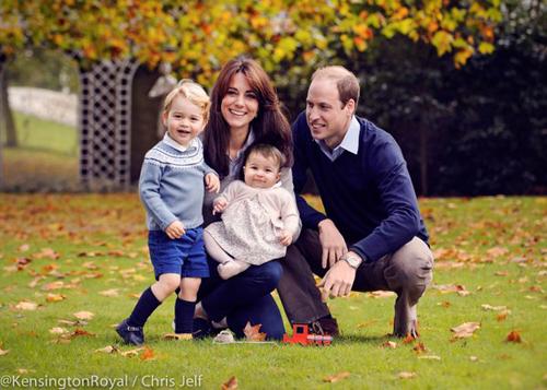 pangeran william, kate middleton, pangeran george, dan putri charlotte