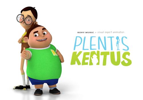 foto plentis kentus 2 tokoh animasi keren garapan