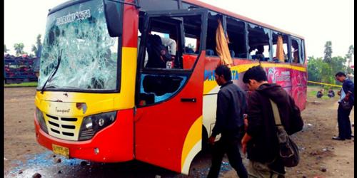 Bus Aremania Diserang Bonek di Sragen, 2 Orang Tewas