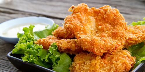 Cara Buat Ayam Goreng Ala Restoran Siap Saji