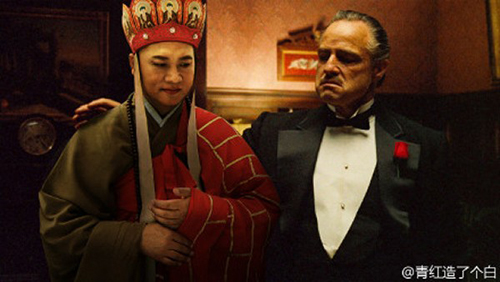 Mencoba menceramahi bos mafia