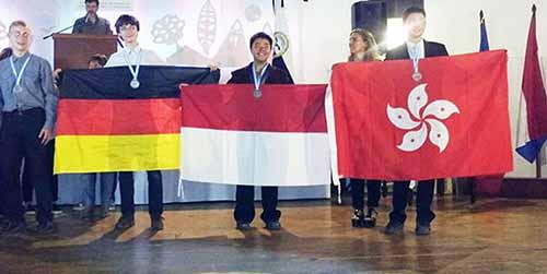 Indonesia Raih 2 Medali Emas di Olimpiade Sains Junior