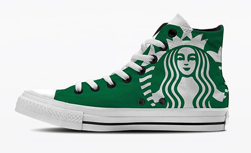 Sepatu Starbucks