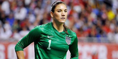 5 Wanita Pemain Bola Paling Cantik 2016: Hope Solo