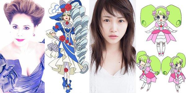 dewi soekarno jadi pengisi suara anime pripara