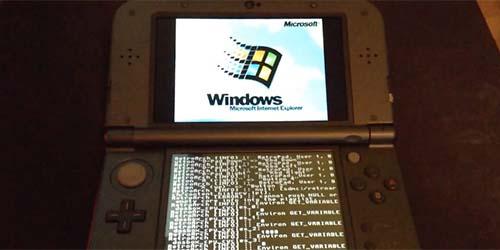 Hacker Berhasil Tanam Windows 95 di Nintendo 3DS