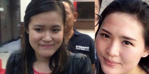 Foto Hoax Jessica Wongso dan Mirna Salihin