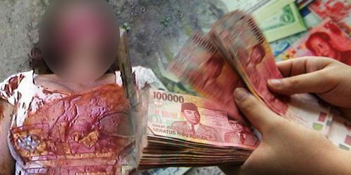 Perkara Duit Rp 350 Ribu, Anak Bunuh Ibu Kandung