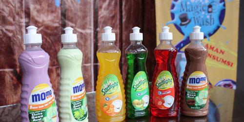 Unik, Ada Minuman Dalam Botol Sabun Pencuci Piring