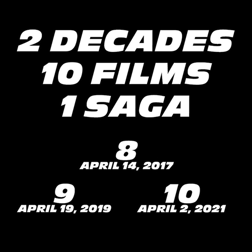 jadwal rilis fast and furious 8, 9, 10
