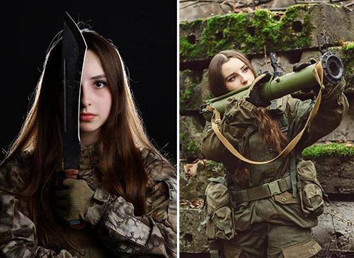 tentara rusia tercantik sedunia bikin musuh klepek klepek