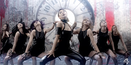 4Minute Ngedance Hip Hop Seksi di MV 'Hate'