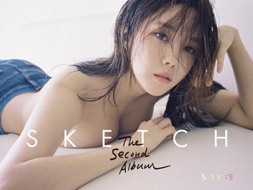 hyomin t-ara topless di comeback album solo sketch