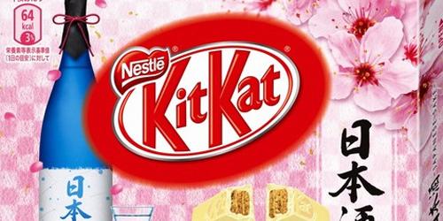 Baru, Kit Kat Rasa Sake Di Jual Di Jepang