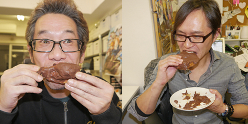 Choco-Kenta, Ayam Saus Cokelat Untuk Rayakan Valentine di Jepang