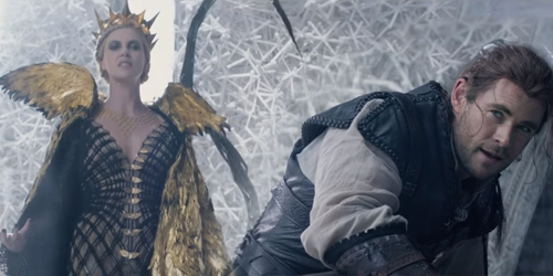 Chris Hemsworth Lawan Charlize Theron di Trailer The Huntsman: Winter's War