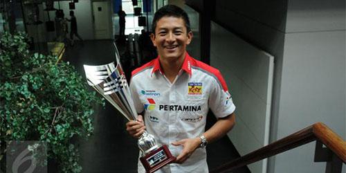 Rio Haryanto Jadi Pembalap Indonesia Pertama Berlaga di F1