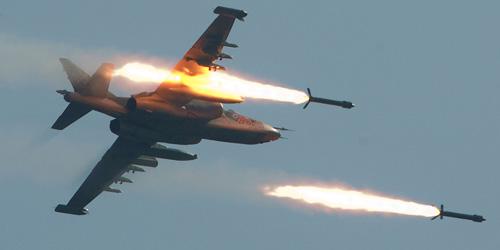 Serangan Udara Sukhoi Rusia Bunuh Warga Sipil Suriah