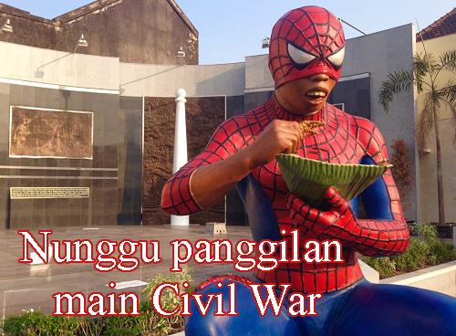 Nunggu panggilan main Civil War