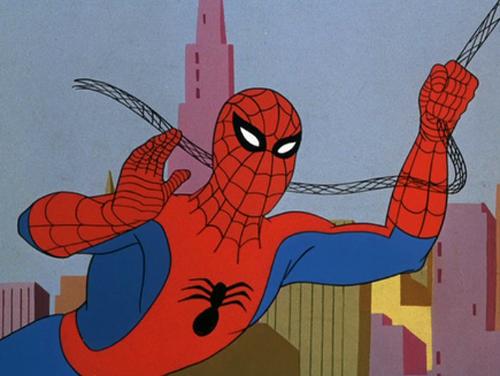 Foto evolusi kostum spider man dari masa ke masa spider - Dessin anime spider man ...