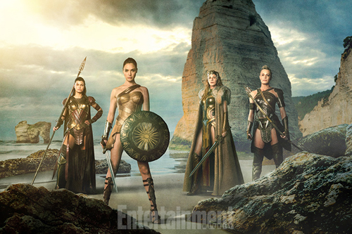 Wonder Woman, menalippe, hippolyta, antiope