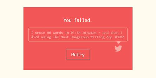 Aplikasi Ini Hapus Semua Tulisan Anda Jika Berhenti Mengetik!
