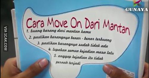Cara move on dari mantan