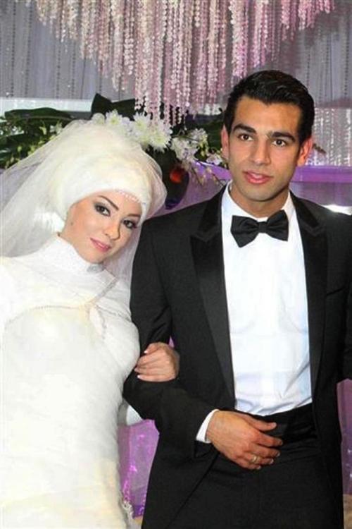 Magi dan Mohamed Salah @arabiaweddings.com