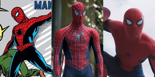 Foto Evolusi Kostum Spider-Man dari Masa ke Masa