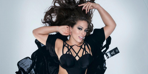 Foto Model Gendut Ashley Graham Tampil Telanjang di Majalah Maxim