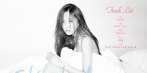 Hyomin T-ara Super Hot di Foto Track List 'Sketch'