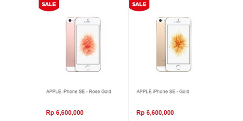 iPhone SE Sudah Bisa Dipesan, Harga Mulai Rp 6,6 Juta