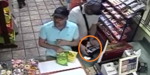 Maling ATM Terekam CCTV, Aksinya Secepat Kilat