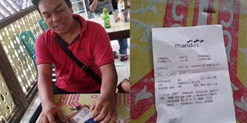 Nasabah Bank Mandiri Linglung, Rekeningnya Jadi Rp 100 Triliun