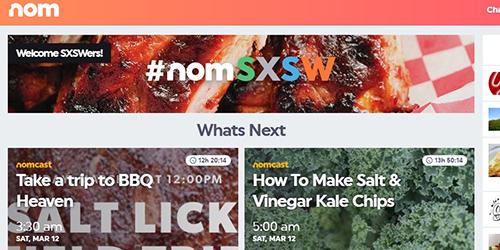 Nom, Aplikasi Video Streaming Khusus Makanan