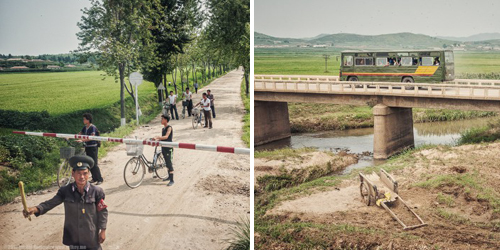 Potret Kehidupan di Korea Utara Jepretan Michal Huniewicz