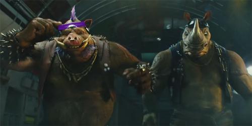 Wujud Bebop & Rocksteady Ditampilkan di Trailer Baru TMNT 2