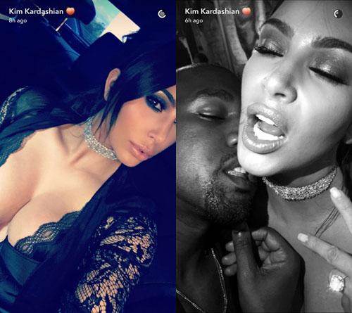 Foto seksi Kim Kardashian dan Kanye West @instagram.com/kimkardashian