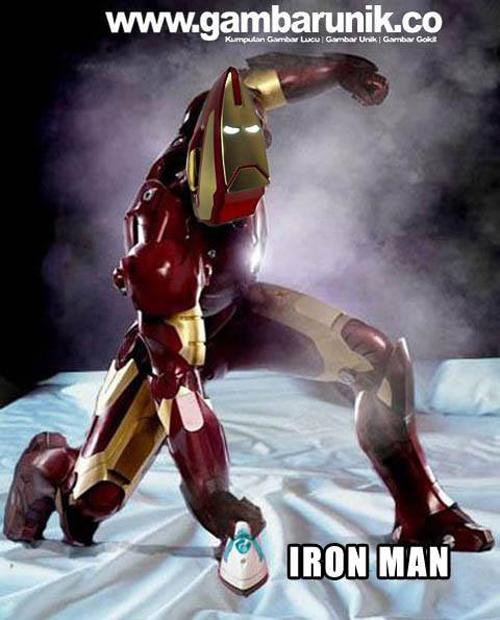 Iron man setrika