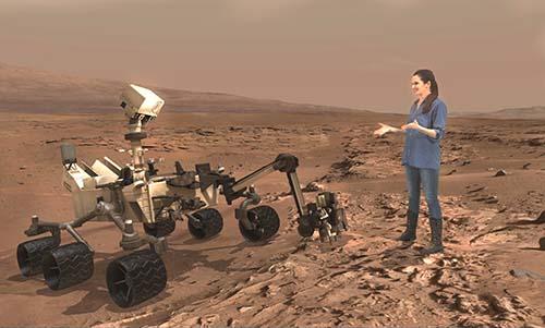Canggih, HoloLens Microsoft Kirim Manusia ke Mars