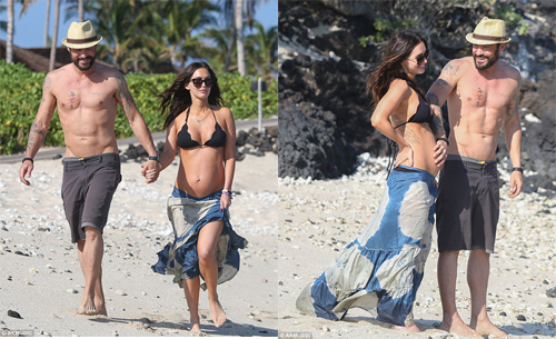Megan Fox dan Brian Austin Green @dailymail.co.uk