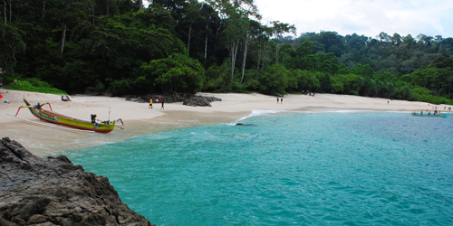 7 Pantai di Jawa Timur ini Cocok Jadi Destinasi Unggulan: Teluk Hijau Banyuwangi