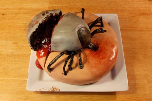Kue serangga mati